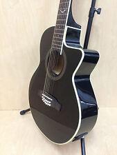 EKO NXT 018 CW XII EQ Black 06217029 12-String Electro-Acoustic Guitar+Free Bag