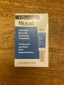 Murad Outsmart Blemish Clarifying Gel Serum Treatment 5ml Sample Size new