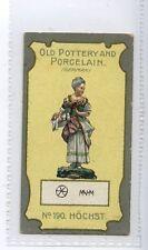 (Jd7753) LEA,OLD POTTERY & PORCELAIN 4TH,HOCHST,1913,#190