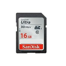 Sandisk Ultra 16Gb Sdhc Class 10/Uhs-1 Flash Memory Card Speed Up To 30Mb/S- Sds