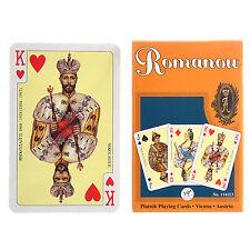 Russian Series Romanow Dynasty 55 Playing Cards.Piatnik.Russische Spielkarten