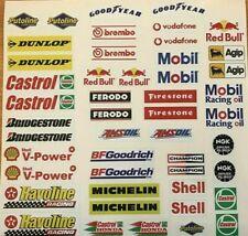MODEL Racing Car RC STICKERS 48 Garage Slot Diorama Remote Control LEGO