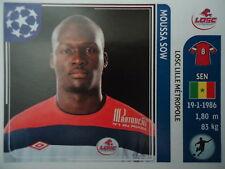 PANINI 123 Moussa SOW LOSC LILLE UEFA CL 2011/12