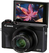 CANON POWERSHOT G7X MARK III 20.1MP compact VOLG camera 4K video - mk 3