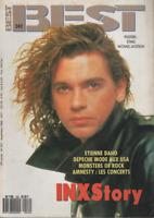 Magazine Best n° 242 ( +posters) Inxs Michael Jackson Depeche Mode E. Daho