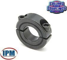 "NEW!  1-1/4""  Double Split 2-PC Clamp Shaft Collar, Steel Black Oxide CCI1252S"