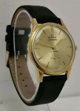 Vintage 1960s Gervaux Swiss Gold Plate 17J Mechanical Gents Watch Cal Arogno 152