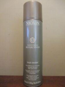 Nioxin Smoothing Reflectives Fast Finish Extra Hold Hairspray 8.8oz