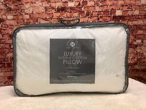 Hotel Collection Luxury Supima Cotton Medium Standard Down-Alternative Pillow