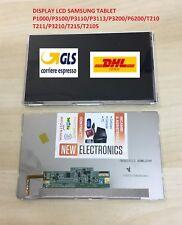 LCD DISPLAY Samsung Galaxy Tab GT P1000 P3100 P3110 P3113 P3200 P6200 T210 T211