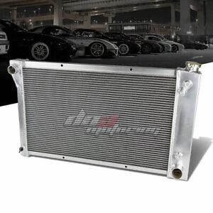FOR 1967-1972 CHEVY C10/C20/C30 K10/K20/K30 3-ROW FULL ALUMINUM RACING RADIATOR