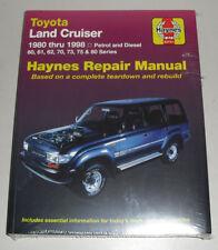Reparaturanleitung Toyota Land Cruiser J6 J7 J8 Petrol + Diesel, 1980 - 1998