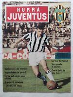 HURRA' JUVENTUS N. 5 MAGGIO 1967 BERCELLINO GORI MILAN VENEZIA BOLOGNA ROMA