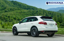 20x10.5 +45 Rohana RC10 5x130 Black Wheel Fit Porsche Cayenne S 2013 Concave Rim