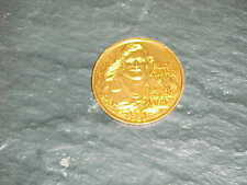 1981 Billy Kilmer Washington Redskins Gold Doubloon Football Coin