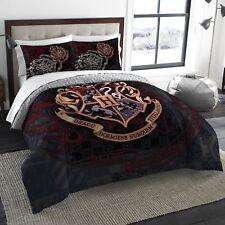 Harry Potter Bedding Comforter Set Full Polyester Duvet Cover Shams Comforter