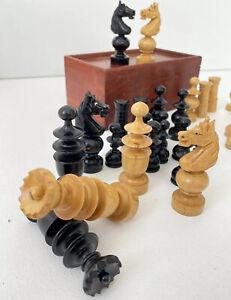 Ancien Jeux D Echecs Régence bois Bui Damier jeu echec chess game