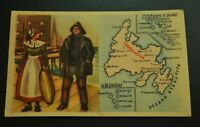 Vintage Cigarettes Card Newfoundland -TERRANOVA. REGIONS OF THE WORLD COLLECTION