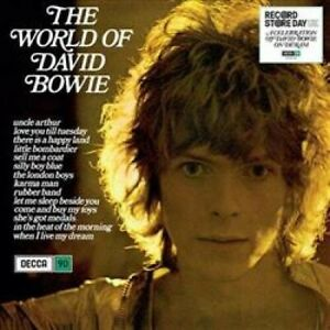 David Bowie The World Of David Bowie RSD 2019 180gm BLUE vinyl LP NEW/SEALED