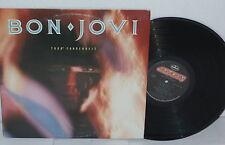 BON JOVI 7800 degrees Fahrenhet LP Vinyl Jon Glam Tokyo Road To The Fire NJ