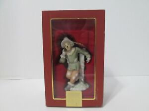 The Scarecrow Lenox Wizard Of Oz Porcelain Ornament #783011 - MIB