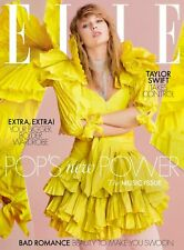 BRITISH UK Elle Magazine April 2019: TAYLOR SWIFT COVER STORY & FEATURE