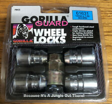Set of (4) VGT GORILLA  Acorn 12MM x 1.5 RH Locks Lug Nuts  #61631