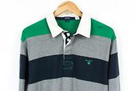 GANT Rugby Shirt Jumper Striped Mens Size  XL