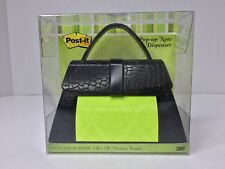 Post-it Pop-up Note Dispensers For 3x3 Inch Note HandBag Bag Clutch Purse Black