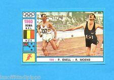 OLYMPIA 1896-1972-PANINI-Figurina ADESIVA !! n.194- SNELL+MOENS -Rec