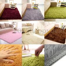 3 tamaños mullido suave antideslizante alfombra pelo largo Comedor Dormitorio