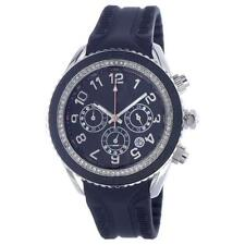 T10 MARACUJA WATCH IN SILICON , 3 SPHERES AND STRASS , T10-C010N BLACK