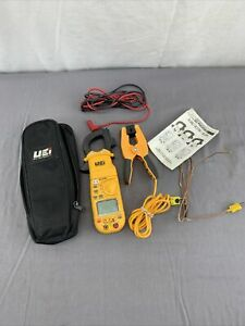 UEi DL379BCOMBO HVAC/R Clamp Meter w/ ATTPC3 Pipe Clamp Adapter See pictures