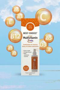 Best Choice Multivitamin Junior Oral Spray 25ml