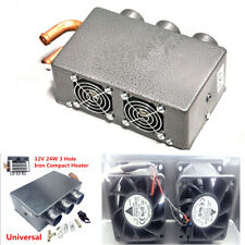 12V 3 Hole 80W Portable Car Heating Cooling Compact Heater Defroster Demister
