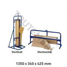 Dérouleur industriel pour papier kraft en rouleau de 120 cm de laize