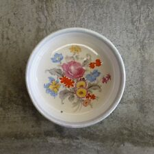 Vintage Lancasters Ltd Hanley Pin Dish England English Ware Floral Bouquet Small