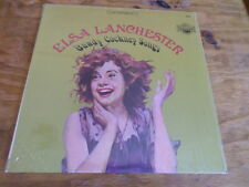 """Elsa Lanchester """"Bawdy Cockney Songs"""" Record with Sleeve - Free Domestic Ship"""
