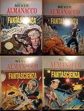 Nathan Never - Blocco di 4 almanacchi fantascienza