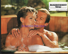 JAMES BOND A VIEW TO A KILL ORIG FRENCH PHOTO ROGER MOORE FIONA FULLERTON SEXY!