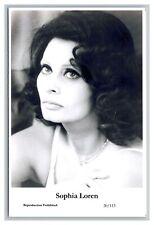 Sophia Loren (C) Swiftsure Postcard year 2000 modern print 20/113 glamour photo