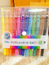 Pilot Frixion Colors Erasable Gel Ink Pens - 12 Colors Set