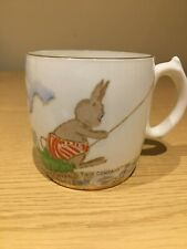 More details for nursery mug by salisbury china  two's company by joyce webb - rabbits at leisure