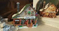 Dept 56 New England Village 1998 Moggin Falls General Store 56602 Retired 2004