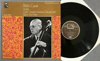 O986 Dvorak Cello Concerto Bruch Kol Nidrei Casals Szell EMI HLM 7013 Stereo