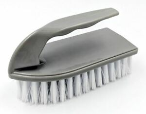 Floor Scrubbing Brush Hand Scrub Brush with Hard Stiff Bristles and Handle