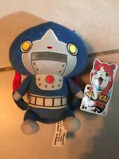 Yo-kai Watch Robonyan Plush Stuffed Animal Blue Robot Cat Yokai
