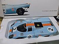 PORSCHE 917 K 24h Daytona Winner 1970 Gulf Wyer #2 Rodriguez  Museum Norev 1:18