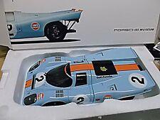 PORSCHE 917 K 24h DAYTONA WINNER 1970 Gulf Wyer #2 Rodriguez Museo NOREV 1:18