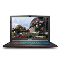 MSI GP63 15.6 i7-8750H NVIDIA GTX 1060 6GB VRAM 16GB 256GB SSD+1TB Gaming Laptop